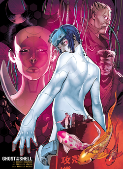 GITS-poster - color by Marcelo Maiolo