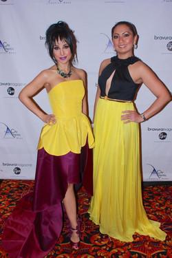 Dr. Nina Radcliff and Eileen Xu