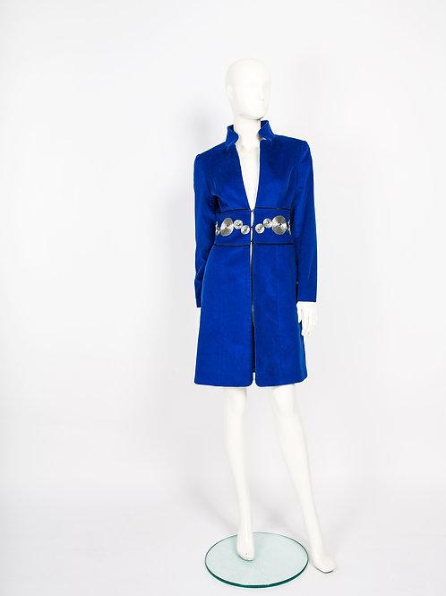 "Mantel ""Veronika Azul"""