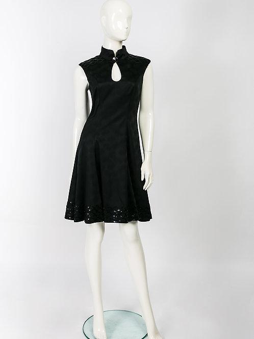 """Kleid """"Bordo-platin"""""""