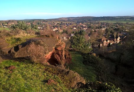 Kinver Edge Sky Watch 2015