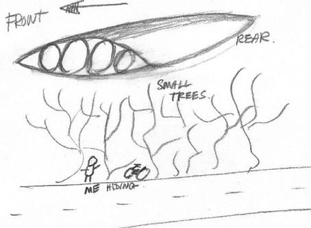 September 1979 – Milton Keynes – Flattened Cone UFO Sightings