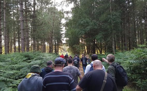 Rendlesham Forest Camp 2017