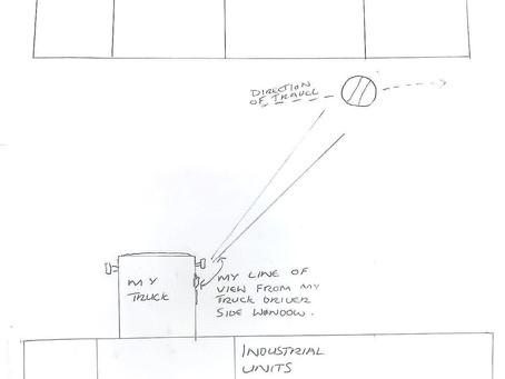 15/06/2021 - Shenstone, Kidderminster - Light Grey Sphere Sighting