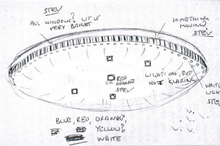Spring/Autumn 1985 – Erdington, Birmingham – Lit Disc UFO Sighting