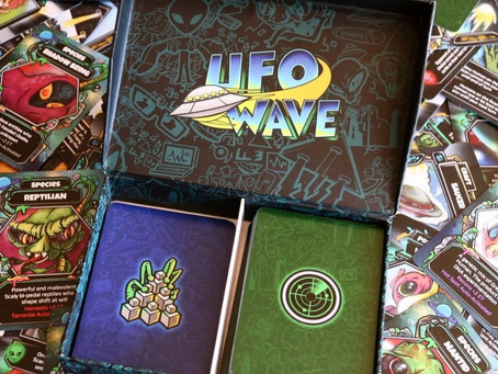 Happy Meeples UFO Wave Review
