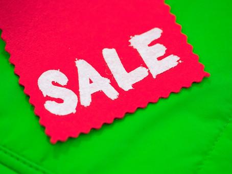Merch Store Launch Sale