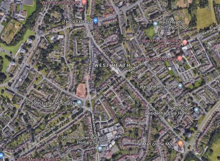 07/09/2013 - West Heath, Birmingham - Circle Of Lights Sighting