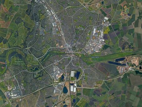 07/07/2013 - Peterborough - Black UFOs Sighting