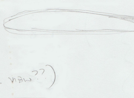 June/July 1996 - Wythall, Worcester – Cigar UFO Sighting
