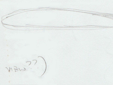 June/July 1996 - Wythall, Worcester – Cigar UFO Sighting