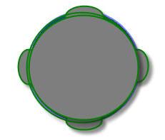 1964 to 27/12/2009 - Hall Green - Disc & Boomerang UFO Sightings