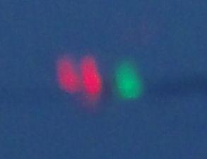 04/05/2014 – London – Red & Green Lights Photograph