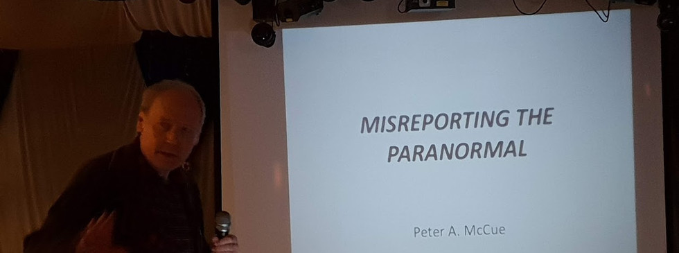 Peter McCue Lecture 2018