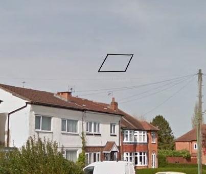 Summer 1993 – Shirley – Black Rhomboid UFO Sighting