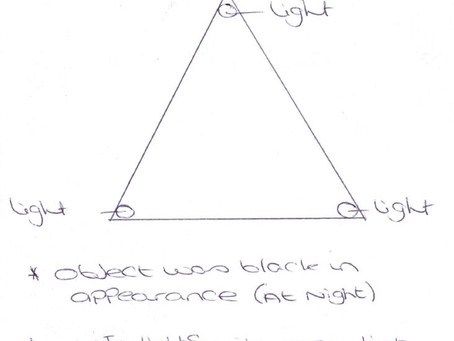 11/02/2010 - Enville – Glowing Light and Flying Triangle Sightings