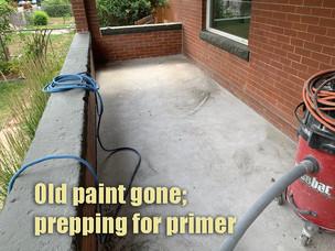 Prepping for primer