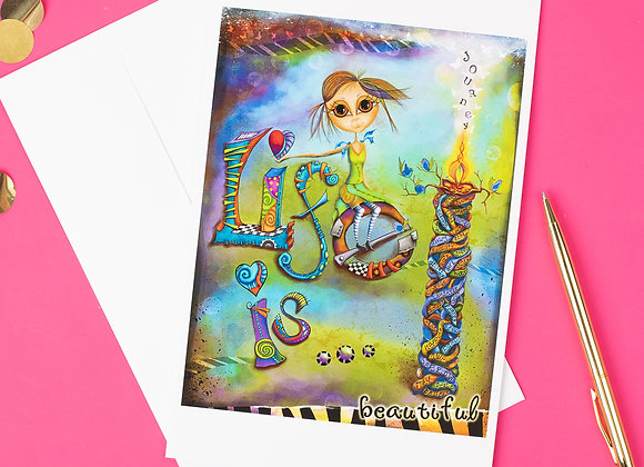 Jagged Touch Studio Cards