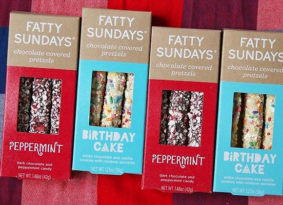 FATTY SUNDAYS - Dipped Pretzels
