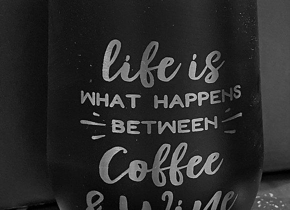 Coffee & Wine Tumbler 12OZ
