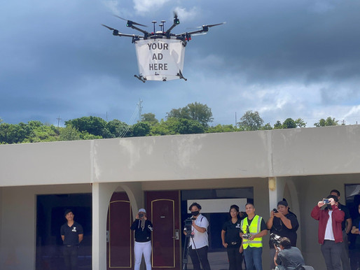 Bella Wings Aviation's drones can entertain, advertise and save lives