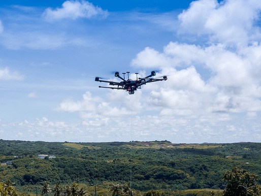 Bella Wings showcases its drone technology; drone documentary to film on Guam
