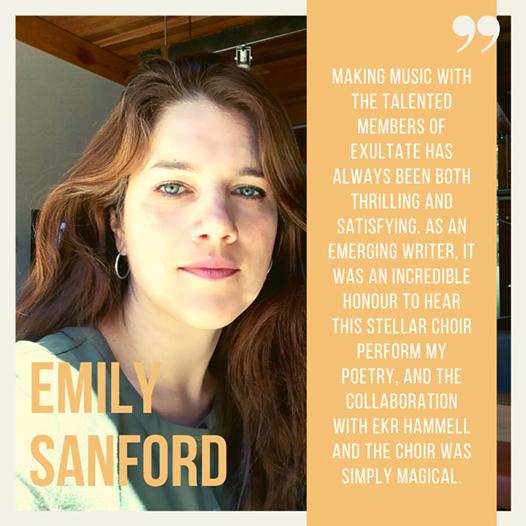 Emily Sanford, poet