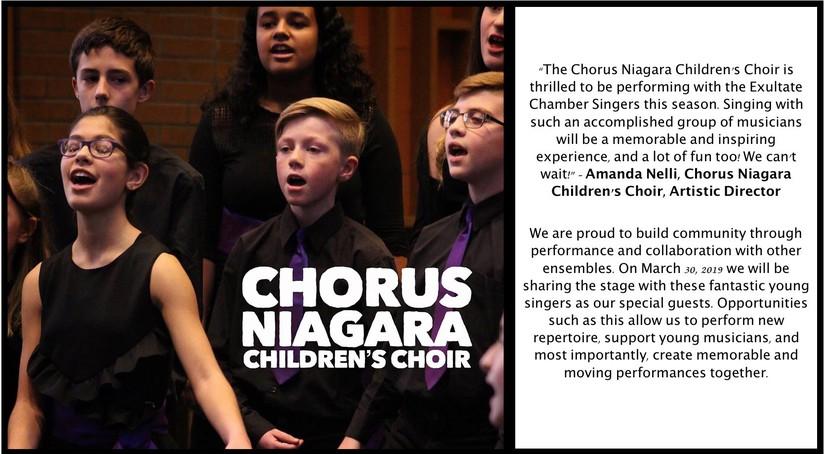 Chorus Niagara Children's Choir