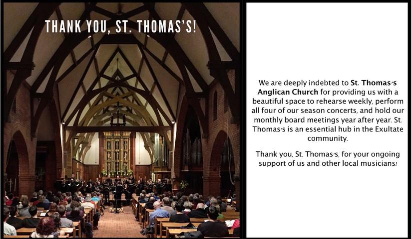 St. Thomas's