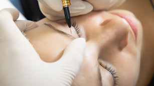 Consultation process for getting your eyebrows Microbladed