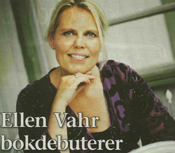 Ellen Vahr bokdebuterer