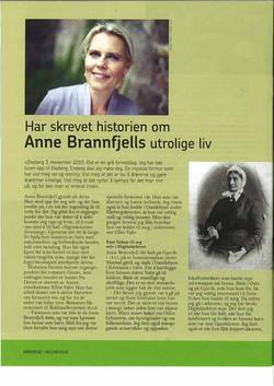 Har skrevet historien om Anne