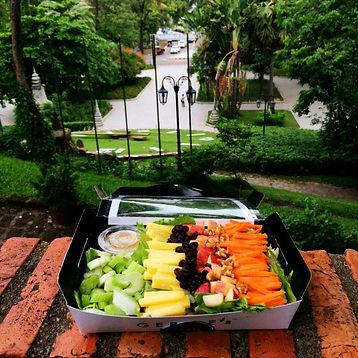 Cold Salad at Wat Phnom