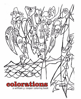 COLORATIONS Coloring Book Cover