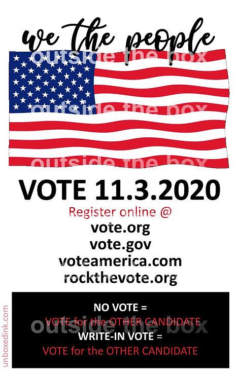 VOTE 2020 ONLINE REGISTRATION  jpg