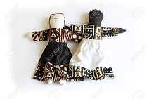88180272-black-doll-and-white-doll-stand