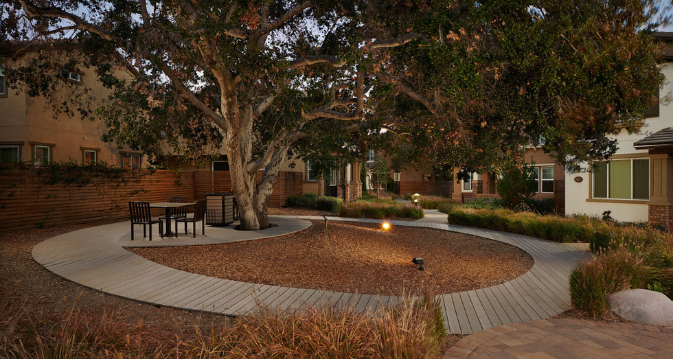 Oakgrove Walk - La Verne CA - By The Olson Company