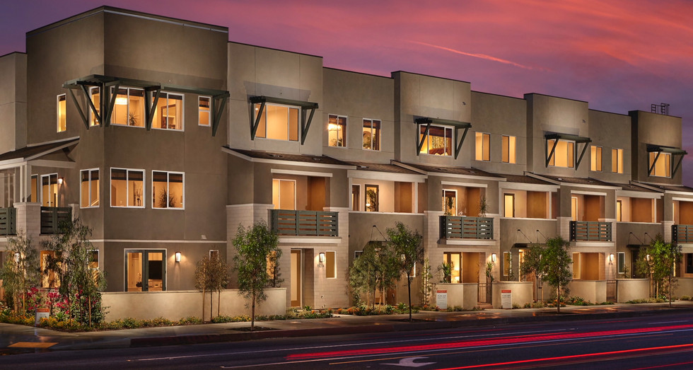 Solstice 70 Townhomes - El Monte CA - By City Ventures