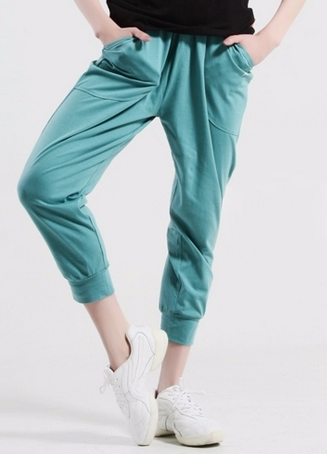 Soft Dance Capri Intights Green Gras