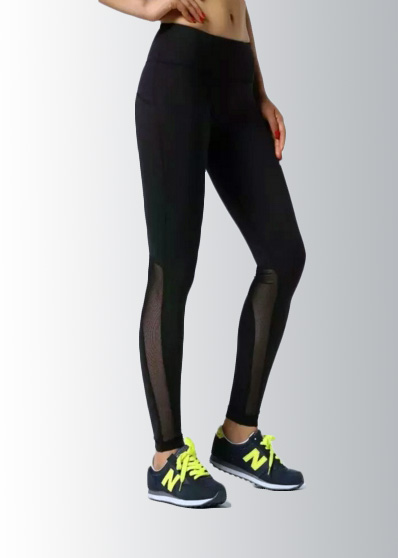 Intights Black run tights mesh