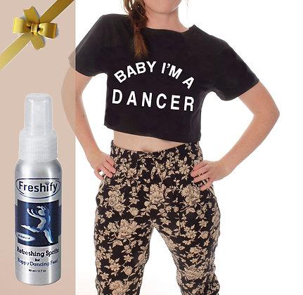 COMBO :  FRESHIFY BOTTLE + I'M A DANCER CROP TOP