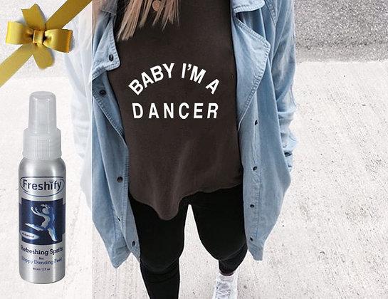 COMBO :  FRESHIFY BOTTLE + I'M A DANCER SHIRT