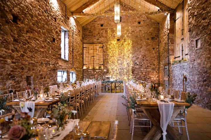 © Shane Webber Photography Rustic Barn Wedding Breakfast