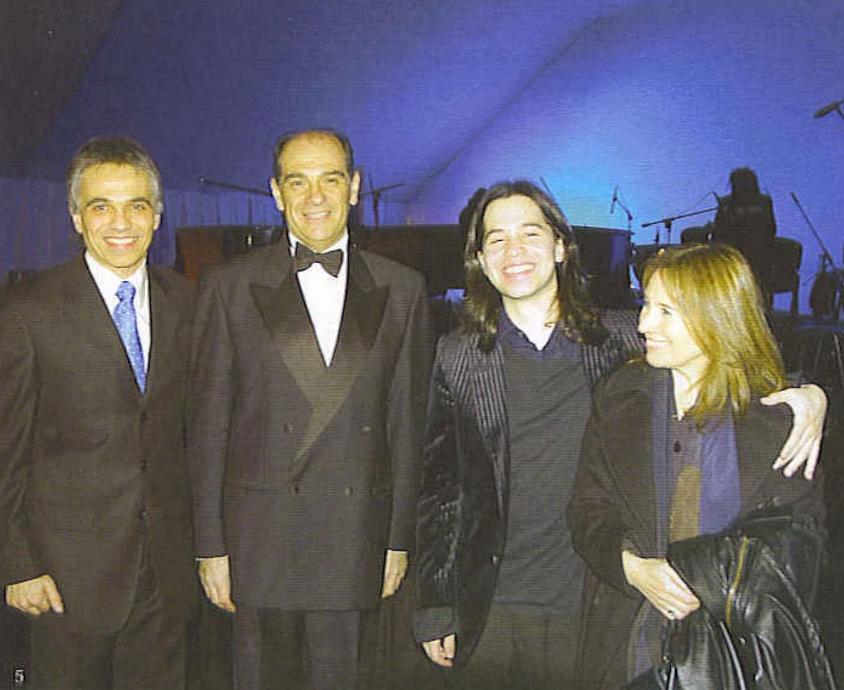 Con Horacio Lavandera 2007