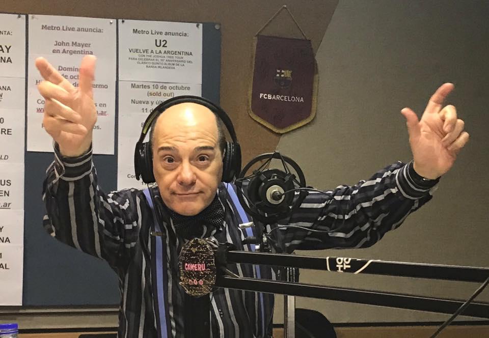 Marcelo Arce en Metro y Medio