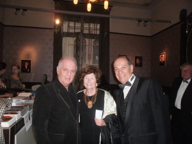 Con Daniel Barenboim