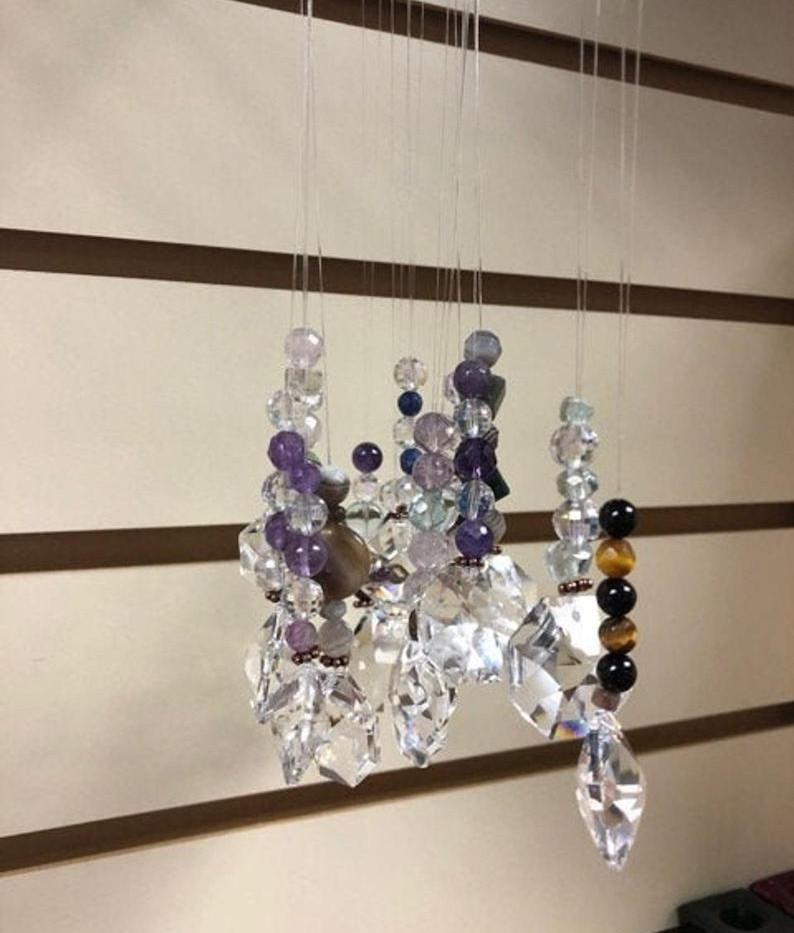 Baqua Crystal Hanging Beads