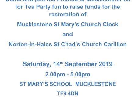 Tea for Time - 14th Sept @ 2PM