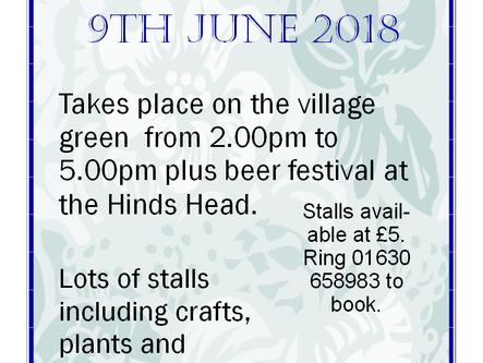 9th Jun 2018 - Norton In Hales Village Festival