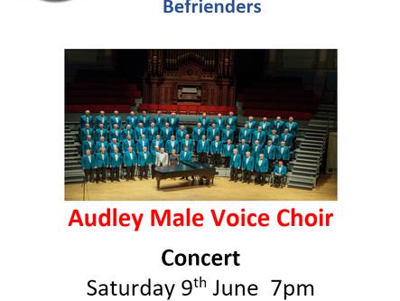 9th June @ 7PM - Audley Male Voice Choir